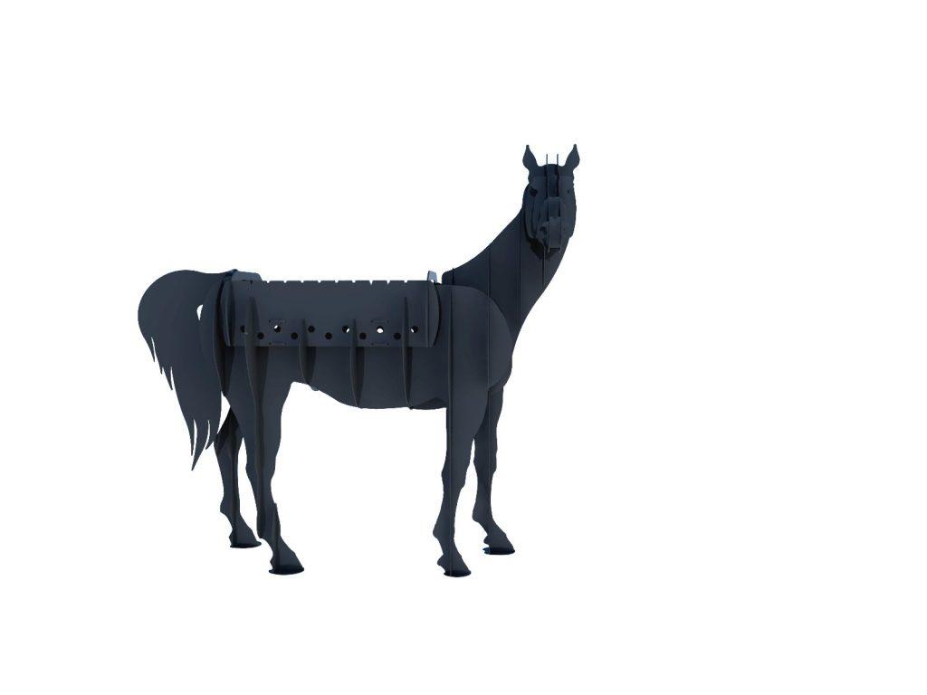 Мангал Лошадь