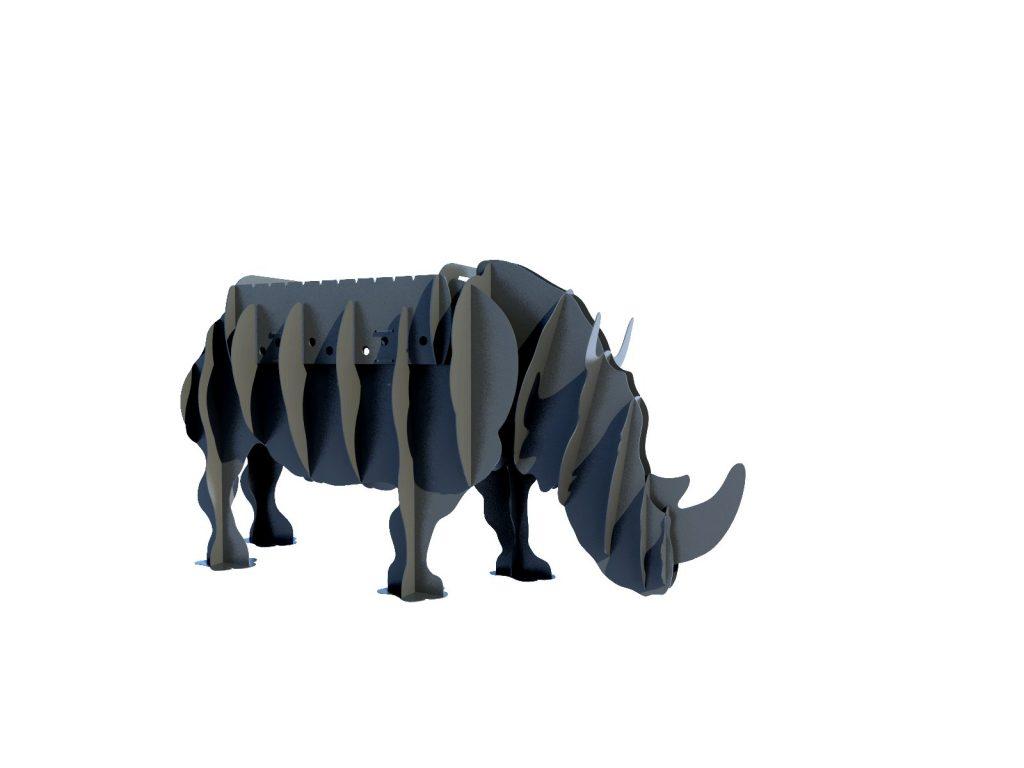 Мангал Носорог